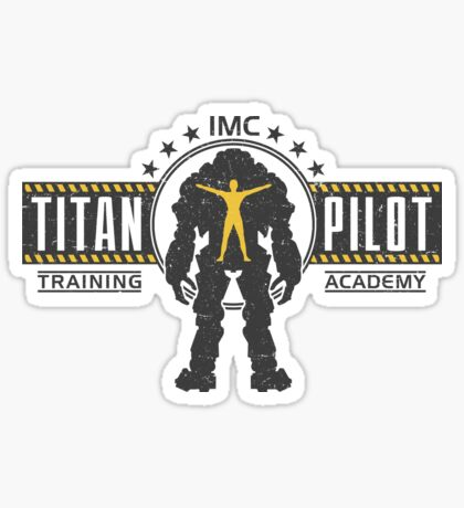 Titan Pilot Training Academy Sticker