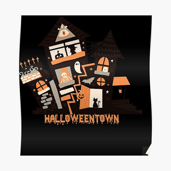 Halloween Town Poster