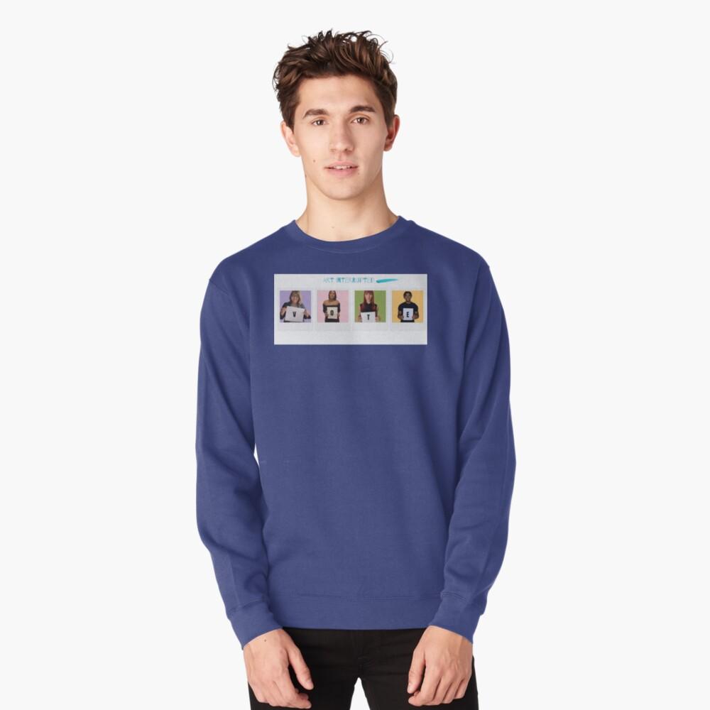 Art Interrupted-VOTE-Vote 2020 Pullover Sweatshirt