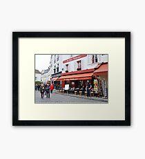 Place du Tertre, Paris Framed Print