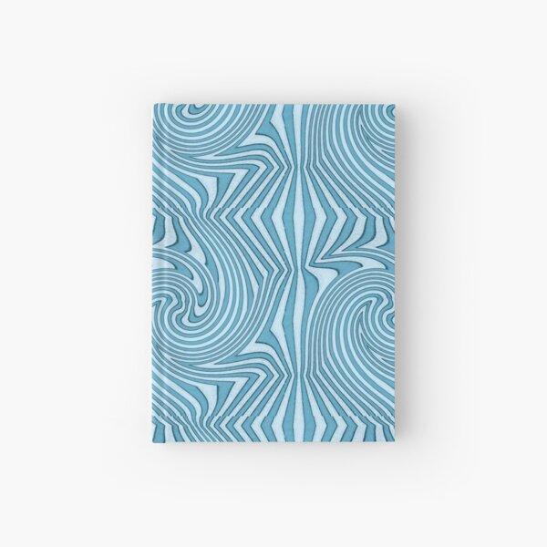 Groovy Blue Hardcover Journal