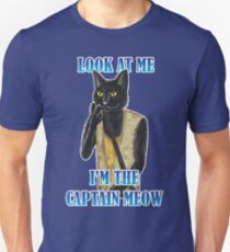 I'm The Captain Meow T-Shirt