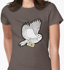 Mail Time Womens Fitted T-Shirt