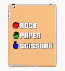 Rock-paper-scissors iPad Case/Skin