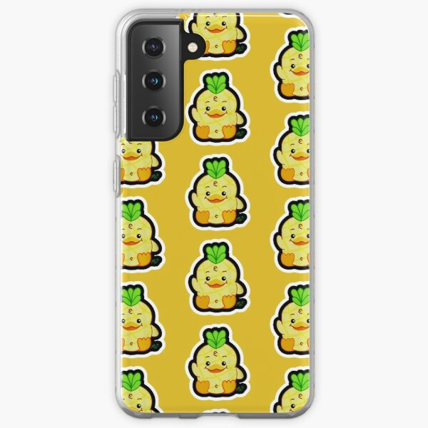 Moriah Elizabeth Georgie Pineapple Duck Samsung Galaxy Soft Case