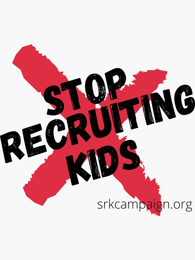 Stop Recruiting Kids by JPOutiffters