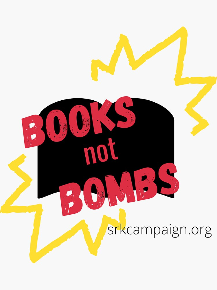 Books Not Bombs | Stop Recruiting Kids by JPOutiffters
