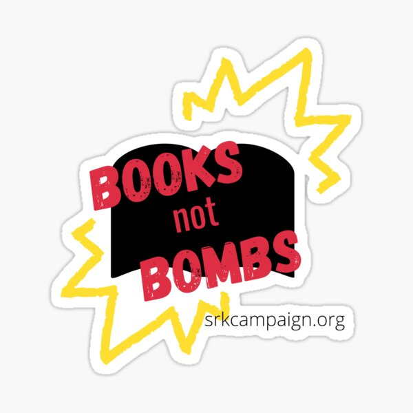 Books Not Bombs | Stop Recruiting Kids Sticker