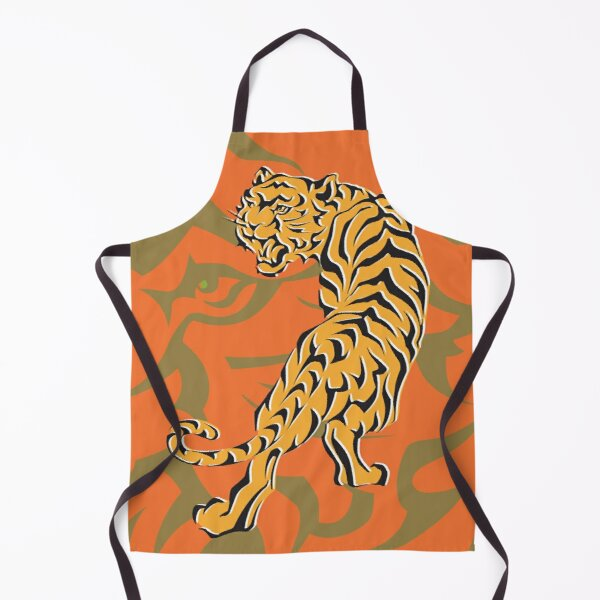 Tiger King of the Jungle Apron