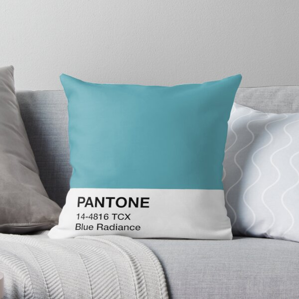 Pantone Blue Radiance Throw Pillow