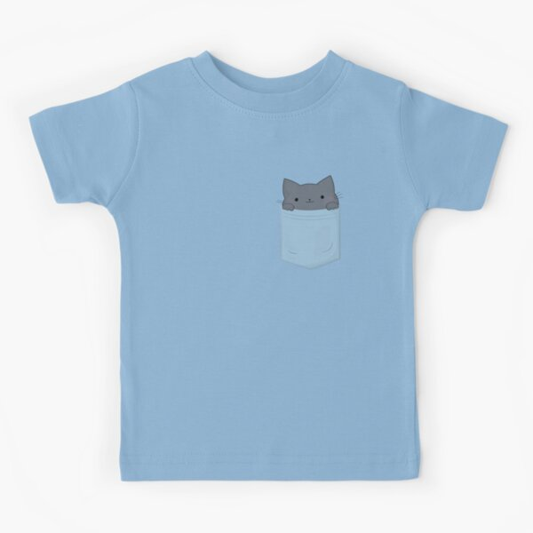 Chat de poche T-shirt enfant