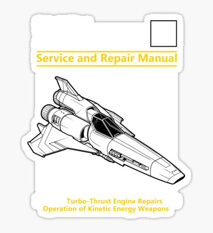 Viper Mark II Service and Repair Manual Sticker