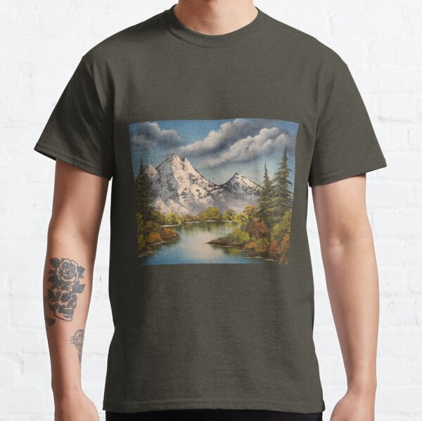 Cabin in the Mountains  Classic T-Shirt