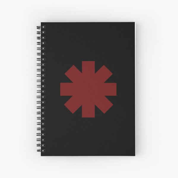 Logo des Red Hot Chili Peppers Cahier à spirale