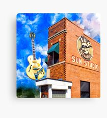 Sun Studio - Historic Memphis Tennessee Canvas Print