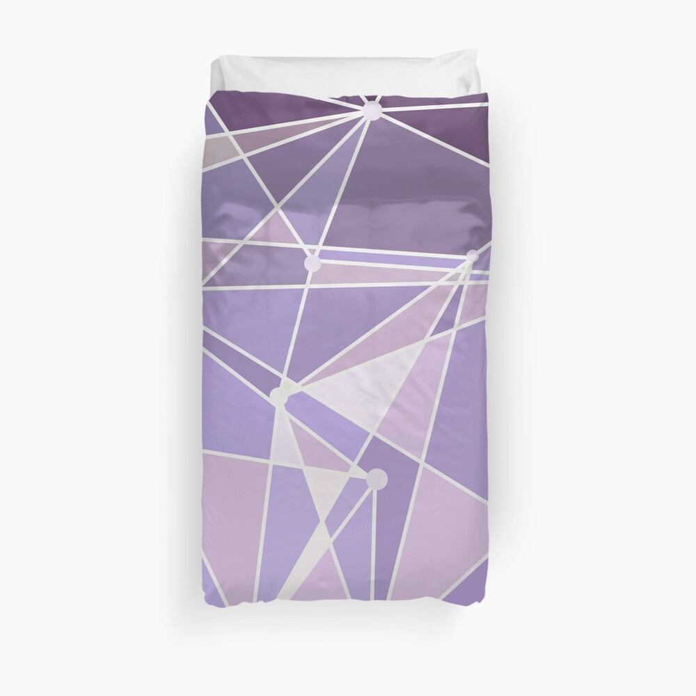 Purple Wall Style Duvet Cover