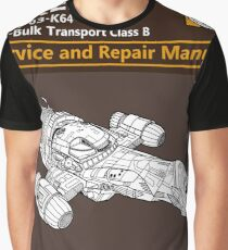 Shiny Service and Repair Manual Graphic T-Shirt