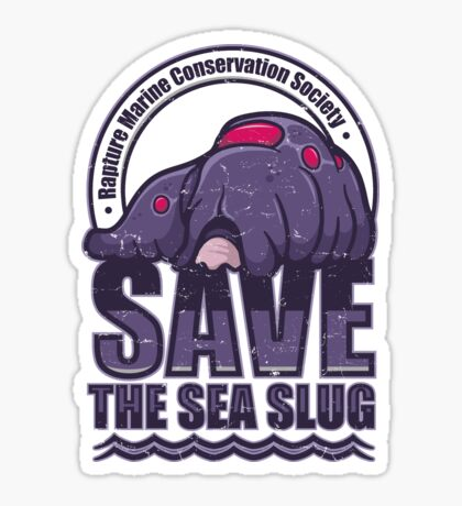 Save the Sea Slug Sticker