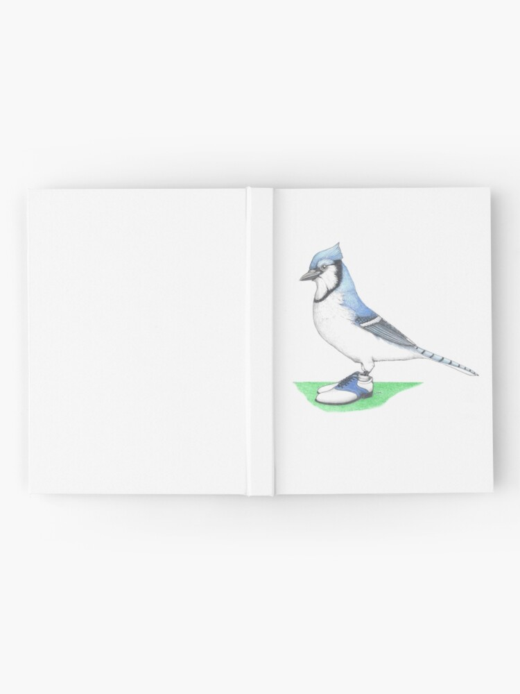 Alternate view of Blue jay in golf shoes Hardcover Journal