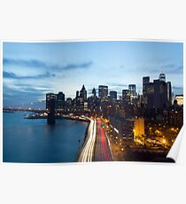 NYC // FDR Drive  Poster