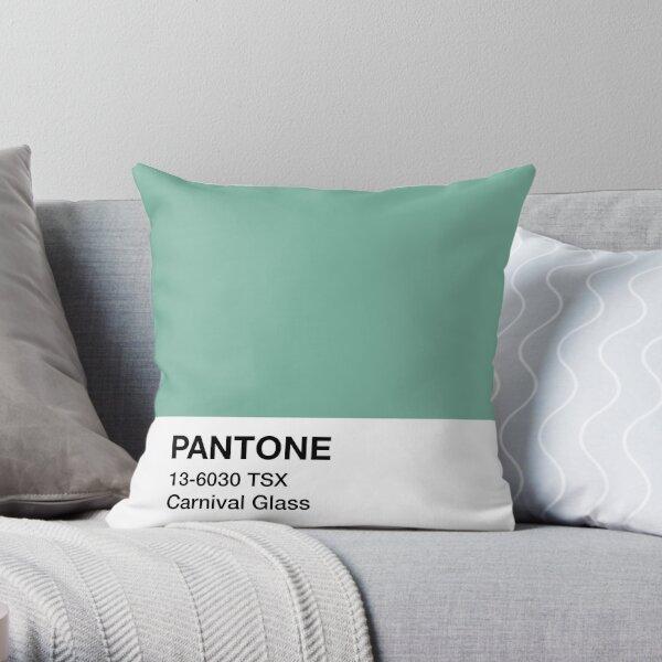 Pantone Carnival Glass Throw Pillow