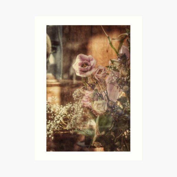 Dying Flowers Art Print