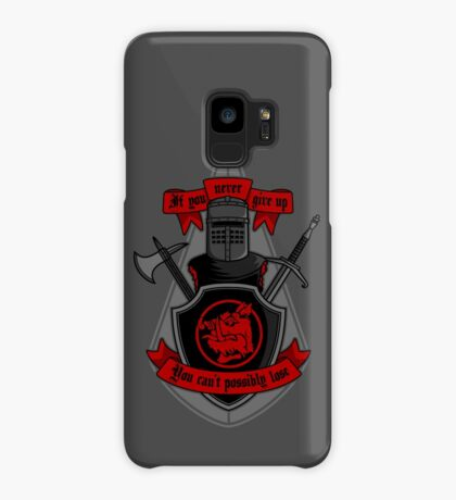 Never Give Up Case/Skin for Samsung Galaxy