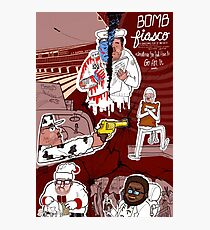 Bomb Fiasco Photographic Print
