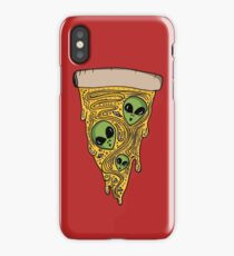 Alien Pizza iPhone Case/Skin