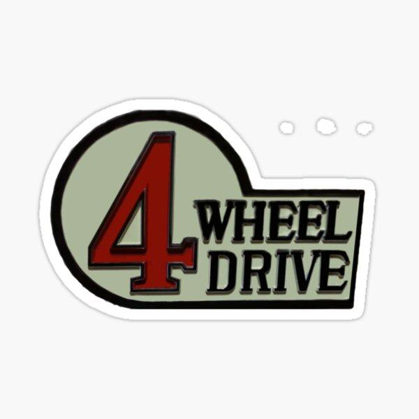 Toyota FJ40 Land Cruiser Four Wheel Drive Emblem Sticker