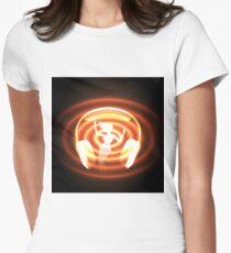 dancing or club music theme Womens Fitted T-Shirt