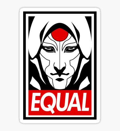 Equal Sticker