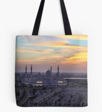 Grand Mosque Abu Dhabi Tote Bag