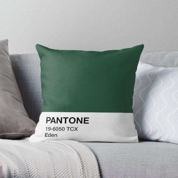Pantone Eden Throw Pillow