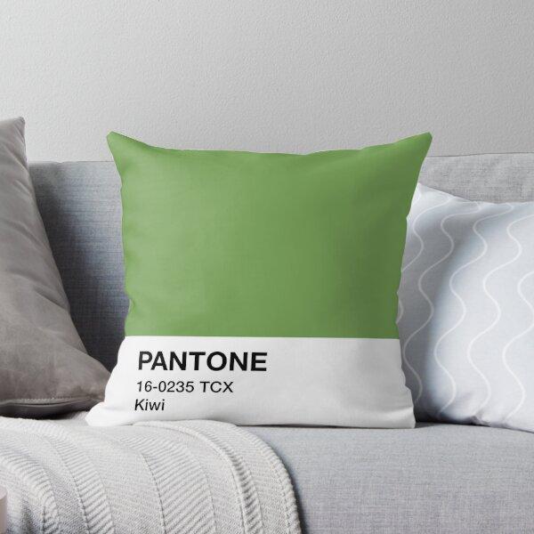 Pantone Kiwi Throw Pillow