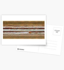 Hubble Space Telescope Jupiter Great Red Spot Postcards