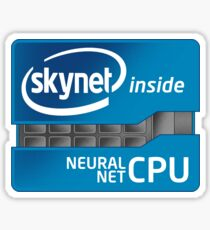 Skynet Inside Sticker