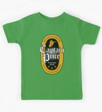 Captain Price Premium Stout Kids Tee