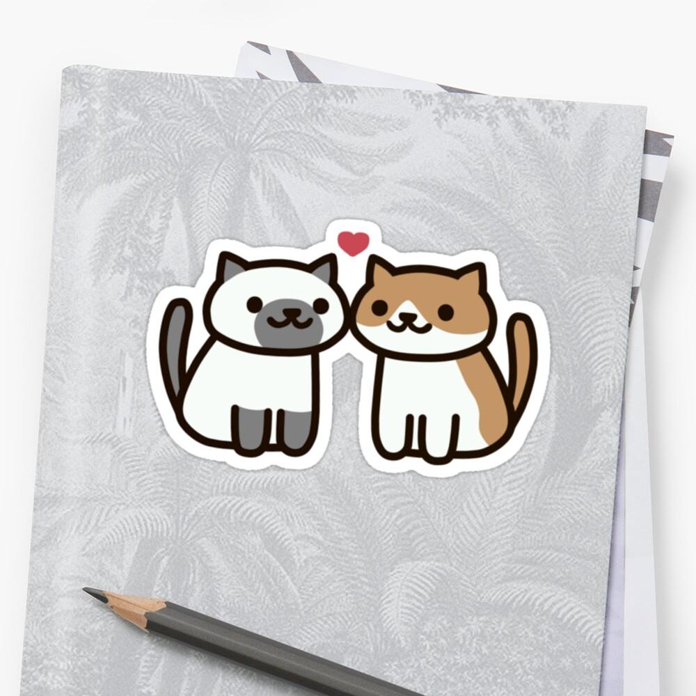 Neko Atsume- Kitty Love by LillyxDesigns