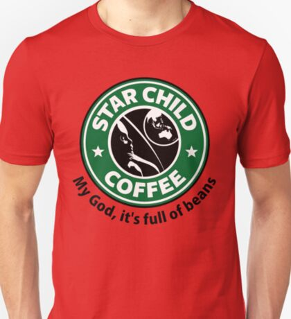 Star Child Coffee T-Shirt