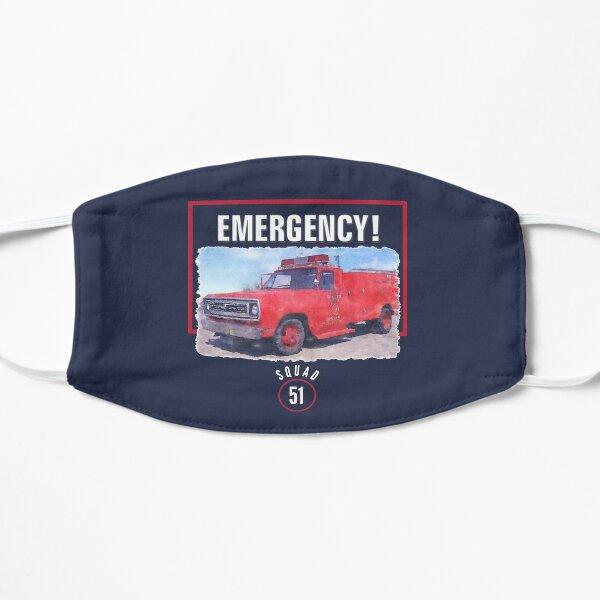 Emergency Squad 51 Truck Flat Mask