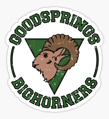 Goodsprings Bighorners Sticker