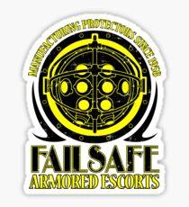 Failsafe Armored Escorts worn Sticker