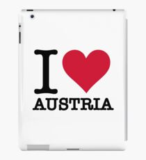 I love Austria iPad Case/Skin