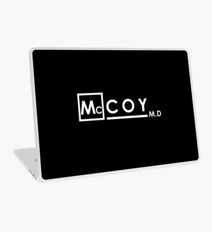 McCOY M.D Laptop Skin