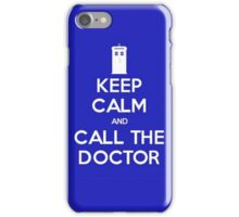Doctor Who: Keep Calm iPhone Case/Skin