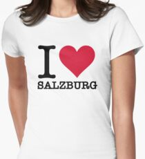 I Love Salzburg Women's Fitted T-Shirt