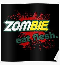 Zombie - Eat Flesh Poster