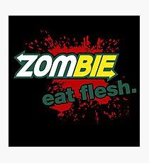 Zombie - Eat Flesh Photographic Print