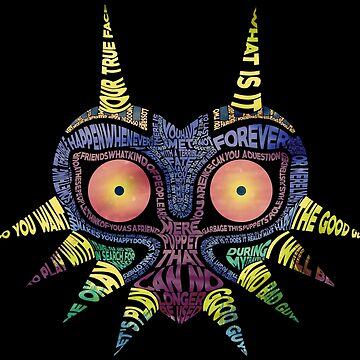 LoZ: Majora's Mask - Typography by RellikJoin